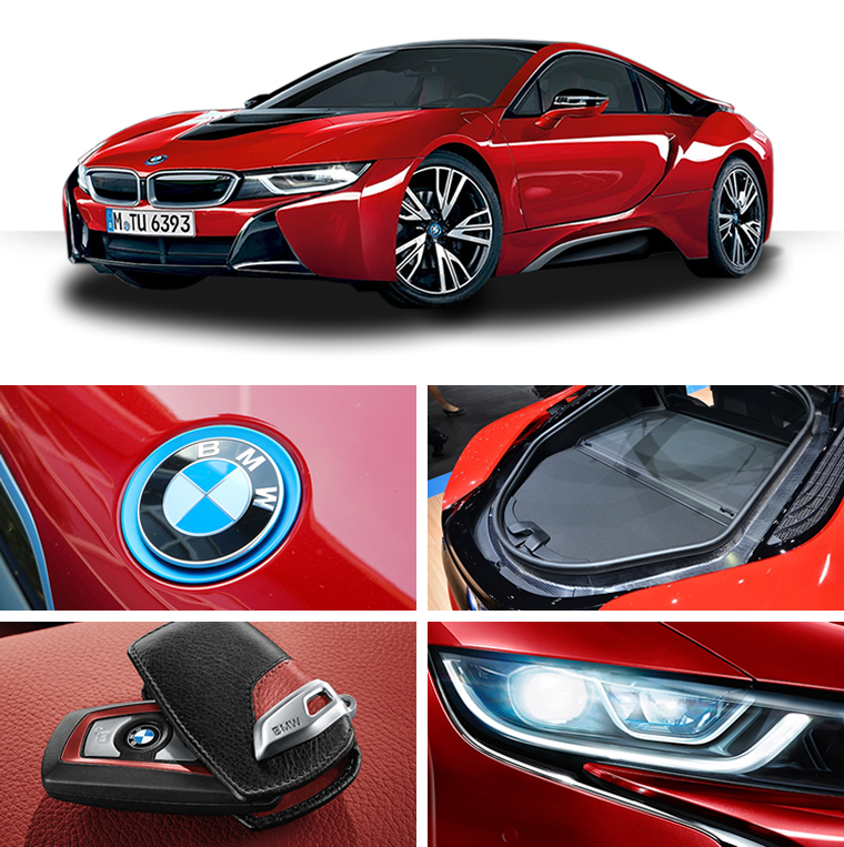 ให้เช่า supercar bmw i8 protonic